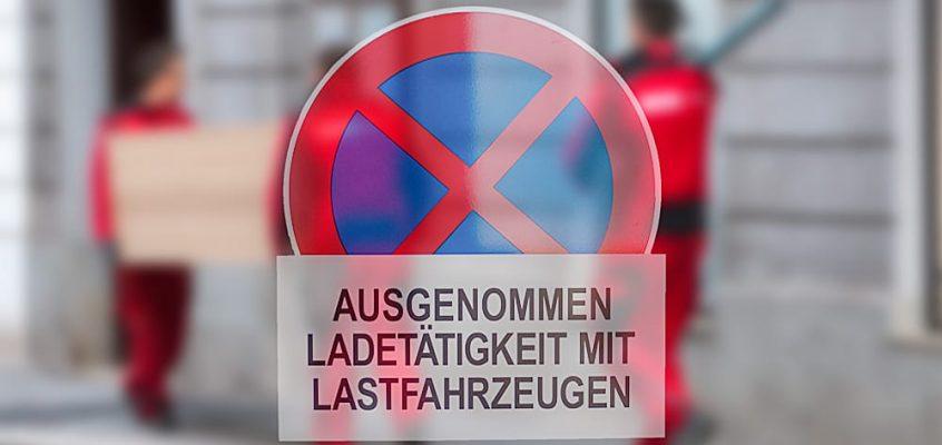 Umzug in Wien Halteverbote beantragen