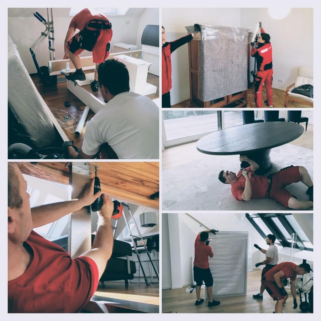 Unsere Möbelpacker helfen bei der Demontage und Montage beim Umzug
